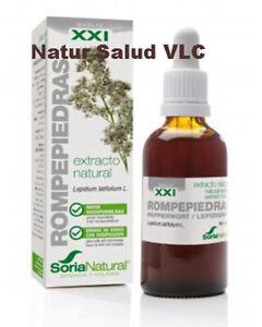 Extracto Rompepiedras_Soria Natural 50ml_Cálculos Renales, Próstata,Äcido ürico