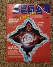SEGA VISIONS MAGAZINE October/November 1990 Genesis/Master System Strider
