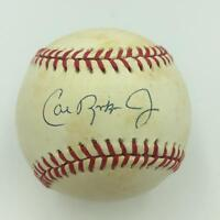 Cal Ripken Jr. Signed Official American League Baseball With JSA COA
