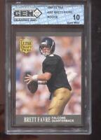 Brett Favre RC 1991 Ultra  #283 Green Bay Packers Rookie GEM MINT 10
