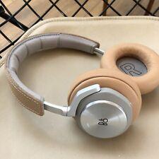 Bang & Olufsen & Play BeoPlay H7 sobre la oreja Auriculares Inalámbricos-Cuero Natural
