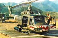 WW2 Picture Photo UH-1 Huey of the 174th Assault Helicopter Company 3447