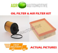 PETROL SERVICE KIT OIL AIR FILTER FOR PEUGEOT 206 CC 1.6 109 BHP 2000-04