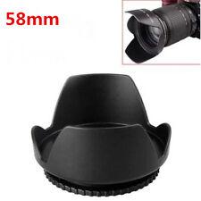 58MM Tulip Petal Flower Lens Hood for Canon Rebel T6i T5i T5 T4i T3i SL1 18-55mm