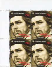 "CHE97-B4 : ARGENTINA Block of 4 stamps ""30th anniversary of CHE GUEVARA"" 1997"
