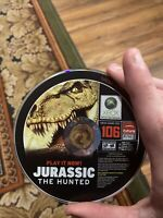 Jurassic: The Hunted (Microsoft Xbox 360, 2009) disc only