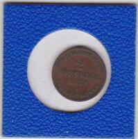 2 Pfennig Mecklenburg Schwerin 1872 Friedrich Franz II bessere Erhaltung