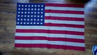 VIntage American 48 Star Flag United States All Cotton 30 Inch x 46 Inch