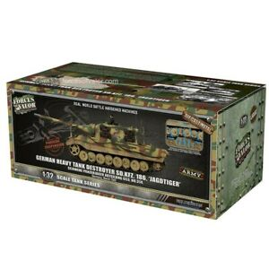Forces of Valor 801065A - 1/32 German Sd.Kfz.186 Hunting Tiger (Porsche) - New