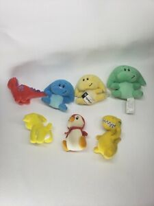 2004 McDonalds Neopets 7 Pets. No Tags Or Clips