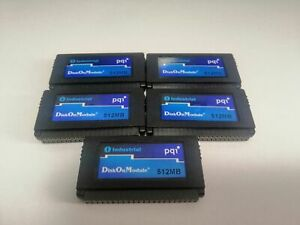 5PCS PQI 512MB Disk on module industrial 44pin DOM