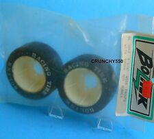 "Bolink BL-3062 1-1/8"" Wide Front Tire Wheel Rim Green Dot Foam Vintage RC Part"