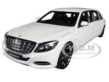 MERCEDES MAYBACH S 600 PULLMAN WHITE 1/18 MODEL CAR BY AUTOART 76296