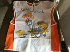 Vintage Liddle Kiddles Child's Art Smock **RARE**. Not in any books