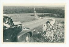 Penfield Highway—Route 153 Cleafield PA DuBois—Rare Antique Roadside Women 1940s