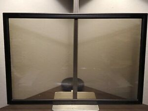 3M PF319W Framed Privacy Filter for Widescreen Desktop LCD/CRT Monitor Black