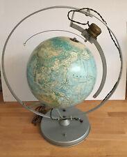 """Nystrom"" Motorized Globe with Orbiting Satellite"