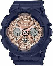 Casio GMAS-120MF-2A2 G-Shock Women's Analog-Digital Blue Resin Strap Watch