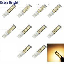 10 pack 12V AC/DC 68 LED per bulb for Malibu landscape lighting Warm white-T10