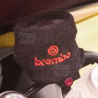 Black Red Ninja Brembo 1x Reservoir Sock Large Universal Cover Sweat Band