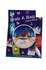 Merry Christmas Xmas Snowman Greeting Cards Reindeer Tree Santa Snow Bear 48 NEW