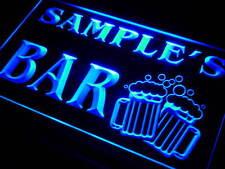 w-tm Name Personalized Custom Home Bar Beer Mugs Cheers Neon Sign