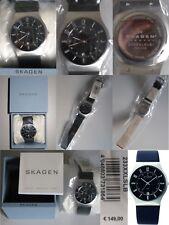 SKAGEN 233XXLSLB STEEL SLIM MEN'S WATCH Brand New Gift Boxed RRP €149 No Reserve