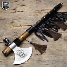 "19"" Native American Design Tomahawk Hatchet Collectible Axe Peace Pipe"