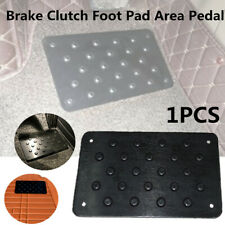 Car Truck Brake Clutch Foot Pad Area Pedal Aluminum Throttle Wear-resistant Mat
