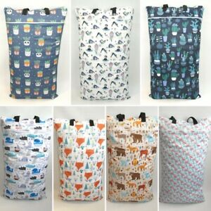 Extra Large XL Wet Bag - Baby Nappy Pail for Reusable Nappies Pads Wipes *UK*