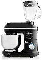 Sensio Food Stand Mixer & Blender 1300W 4.5L Mixing Bowl 6 Speeds + Accessories