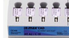 E Max CAD Cerec inLab HT A3 C14  5Stück Neu