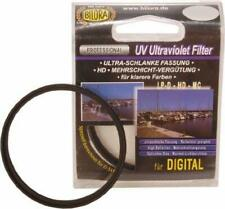 2 x Bilora UV Ultraviolet Filter Ø 55 mm Low Profile hartversiegelt 7011-55 OVP