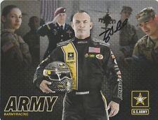 2017 Tony Schumacher signed U.S. Army Top Fuel NHRA postcard