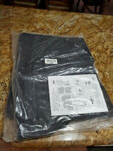 10-17 Ford Flex OEM All Weather Rubber Floor Mat Set - Genuine Ford Accessory