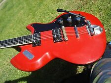 1966 Gretsch Astro Jet Red 6126 Vintage Electric Guitar Mighty Mite Pickups