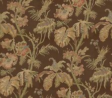 Echo Island Home Tropical Wallpaper 60+Sqft Bolt Brown & Multi-Color 685393