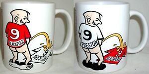 Funny Wee On Blackpool Preston Coffee Tea Mug Football Shirt Fan Rivalry