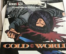 "Genius GZA Cold world 12"" vinyl Geffen Records Promo"
