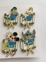 DSF - Character Directors four 4 pins mickey-chip-jiminy & stitch.