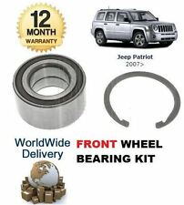 FOR JEEP PATRIOT 2.0DT 2.2DT 2.4i 9/2006> NEW FRONT WHEEL BEARING KIT