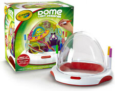 CRAYOLA DOME LIGHT DESIGNER ~ DRAW INSIDE & OUT..THEN LIGHT IT!