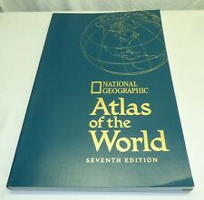 Vintage 1999 National Geographic Atlas of the World 7th Edition Softcover PB