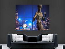 Estatua De Bruce Lee Hong Kong pared arte cartel impresión de foto grande enorme