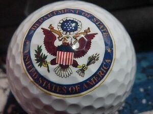 3 Dozen Assorted Brands Mint (Department Of State LOGO) Used Golf Balls