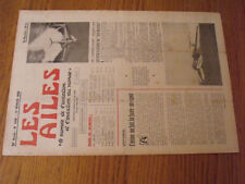 "14µ?  Revue Les Ailes ""Monde Aviation"" n°1668 Sea-Master Aeroscooter D-117"