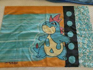 Pokemon 1995 Nintendo Pillow Case