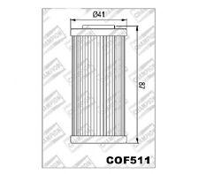 100609785 (COF511) (HF611) FILTRO OLIO BMW G450 X HUSQVARNA 449-511