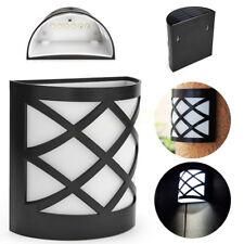 Lumière Solaire De 6 Led Éclairage Extérieur Luminaire Mur Ip55 Étanche
