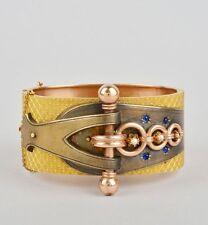 Bangle Pearl Yellow Gold Victorian Fine Jewellery